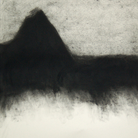 Douglas A. Kinsey, , , Original Drawing Charcoal, size_width{Waking_Into_The_Desert__Dream_39-1313766105.jpg} X 42 inches