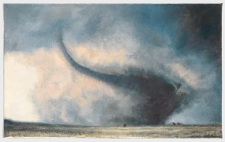 Claudia Kleefeld; Roping Tornado, 2011, Original Printmaking Giclee - Open Edition, 16.3 x 10 inches.