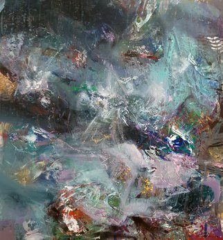 Kloska Ovidiu; Gigantic Mindscape By Kloska, 2017, Original Painting Acrylic, 130 x 140 cm. Artwork description: 241 ovidiu kloska, oneiric art, large scale painting, abstract, colors, mindscape, dreamlike, dreamscape, light, river, fascination, waves, universe expanding, meditation, traveling, movement, subtle...
