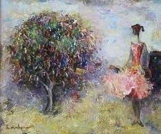 Radish Tordia; Wish Tree, 2011, Original Painting Oil, 50 x 60 cm.