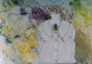 Thomai Kontou; My Shirt, 2004, Original Watercolor, 50 x 70 cm.
