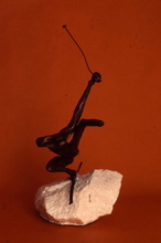 Artist: Ivan Kosta's, title: Black Diamonds, 2000, Sculpture Bronze