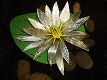 Artist: Ivan Kosta's, title: July Water Lilly, 2010, Sculpture Steel
