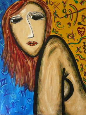 Krizia Guerra; The Morning After, 2008, Original Painting Acrylic, 30 x 40 inches.