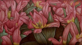 Peggy Thomas Cacalano, Tulip Rhapsody, 2010, Original Giclee Reproduction, size_width{Tulip_Rhapsody-1457947444.jpg} X 26 x  inches