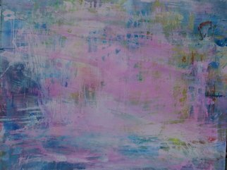 Luise Andersen, 'BEGINNING  Of Anticipatio...', 2008, original Painting Acrylic, 30 x 24  x 1 inches. Artwork description: 104475  DO NOT FEEL PURSUE OF COMPLETION FOR OTHER ART PIECES. . CHOSE THIS ONE TODAY. . OTHER HUES THAN USUAL. . PINKS, WHITES, BLUES, WHICH I DO USE LATELY MORE, YELLOW IN CLEAR, GREENS, VERY LIGHT. . AND I ALREADY REACHED FOR DEEP PURPLE AND LAID IT NEXT TO ME. . SO ...
