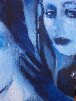 Luise Andersen, Untitled ii, 2014, Original Painting Oil, size_width{Detail_III_BLUE_Rooms_Of_Soul_II_May_29__2014-1401436890.jpg} X 36 inches