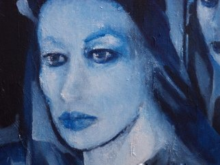Luise Andersen, Untitled ii, 2014, Original Painting Oil, size_width{Detail_II_BLUE_Rooms_Of_Soul_II_May_29__2014-1401436726.jpg} X 36 inches