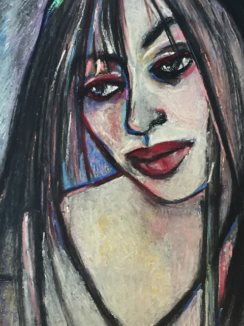 Luise Andersen Detail II Pastel Core WorK TO EXPRESS IN COLORS V AUGUST 11  2015, 2015