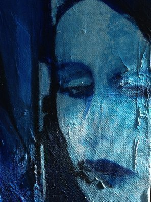 Luise Andersen, Facets  II Of Fontana Fount..., 2014, Original Painting Oil, size_width{Feeling_In_BlUE_MAY_I2_2014__UpDate_detail_I-1400036062.jpg} X 36 inches