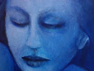 Luise Andersen, 'Feeling In BlUE MAY I  De...', 2014, original Painting Oil, 24 x 36  x 1 inches. Artwork description: 25275       oils on canvas board, progress update.   ...