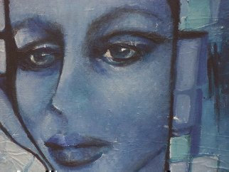 Luise Andersen, Untitled ii, 2014, Original Painting Oil, size_width{NEW_IN_BLUE_update_DETAIL_VIII_DETAIL_I-1401057812.jpg} X 15 inches