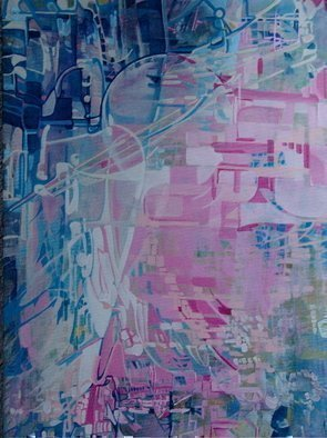 Luise Andersen, From this Create ANEW  I , 2009, Original Painting Acrylic, size_width{anticipation_Choice_Of_View_IV_Oct_Twthree-1256329379.jpg} X 30 inches