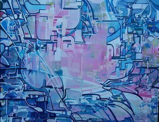 Luise Andersen, Jan 11 2017 express in hues, 2010, Original Painting Acrylic, size_width{anticipation_ProgrssUpdte_mayEightnTwoOTn_-1274162990.jpg} X 24 inches