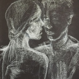 Luise Andersen, , , Original Drawing Charcoal, size_width{page_9_whte_on_blck_2-1521580136.jpg} X 14 inches