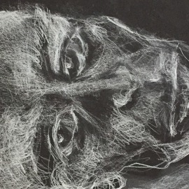 Luise Andersen, , , Original Drawing Charcoal, size_width{pge3_instant_of_a_feel_sketch-1520644701.jpg} X 12 inches