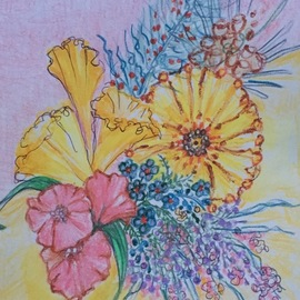 Luise Andersen, , , Original Drawing Other, size_width{thank_you_valentine_card_2g-1518574436.jpg} X 9 inches