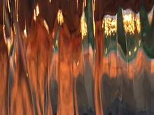 Luise Andersen untouched original images of SUNSET IN FONTANA FOUNTAINS III, 2015