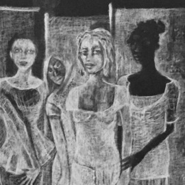 Luise Andersen, , , Original Drawing Charcoal, size_width{work1_on_discipline-1520735987.jpg} X 14 inches