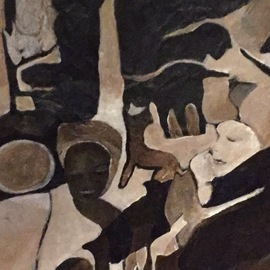 Luise Andersen, , , Original Painting Acrylic, size_width{work_something_new_9_detail_1-1550959416.jpg} X 31 inches