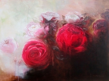 Artist: Jane De France's, title: Beautiful, 2011, Painting Acrylic