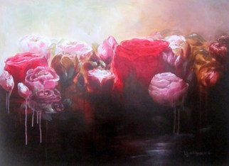 Jane De France, Rose Water, 2011, Original Painting Acrylic, size_width{Rose_Water-1350273111.jpg} X 90 x  cm