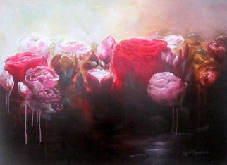 Jane De France, , , Original Painting Acrylic, size_width{Rose_Water-1485301139.jpg} X