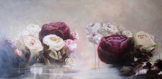 Jane De France, Rose Water II, 2012, Original Painting Acrylic, size_width{Rose_Water_II-1350273254.jpg} X 90 x  cm