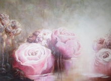 Artist: Jane De France's, title: Rose Water IV, 2012, Painting Acrylic