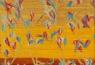 Nina Gabriel; Melody Of Love, 2006, Original Painting Acrylic, 6 x 4 inches. Artwork description: 241