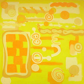 Leo Evans, , , Original Painting Acrylic, size_width{AMARILLO-1049992903.jpg} X 36 inches