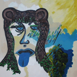 Leo Evans, , , Original Painting Acrylic, size_width{BLUE_SOUL-1203109251.jpg} X 20 inches