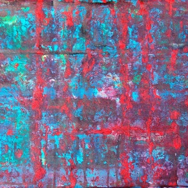 Leo Evans, , , Original Painting Acrylic, size_width{CHINA_TOWN_ABSTRACT_61-1252962056.jpg} X 15 inches