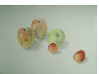 Leo De Freyne; Fruit, 2002, Original Watercolor, 38 x 30 cm. Artwork description: 241 Watercolour and pencil on paper...