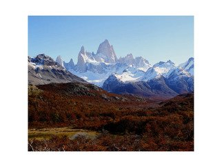 Leonardo Marino, Fitz Roy Peak, 2011, Original Photography Cibachrome,    cm