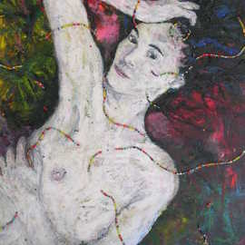 Leon Kuhn, , , Original Mixed Media, size_width{beaded_beauty-1188241861.jpg} X 60 cm