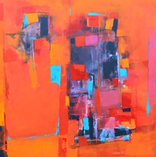 Artist: Leyla Murr's, title: Fragmented, 2014, Painting Acrylic