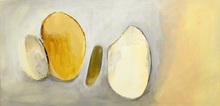 Artist: Leyla Murr's, title: White Lie, 2015, Painting Acrylic
