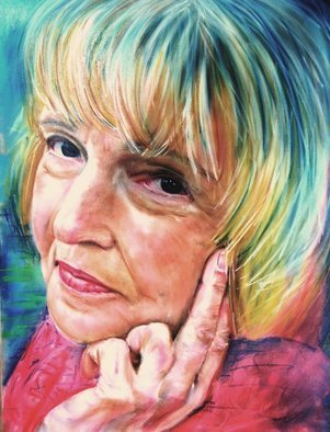 Laurie Hendricks; Marilyn, 2008, Original Pastel, 18 x 22 inches.