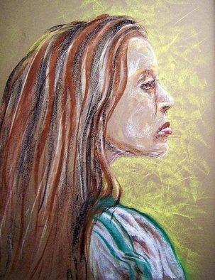 Laurie Hendricks; Study, 2007, Original Pastel, 18 x 22 inches.