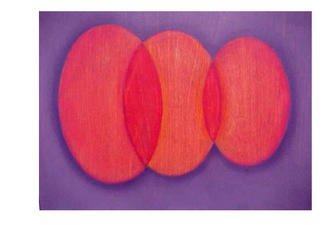 Lillian Abel; untitled, 2002, Original Painting Oil, 12 x 9 inches. Artwork description: 241 Oil on Birch - Untitled ( Red and Purple) Photo: Willliam Nettles...