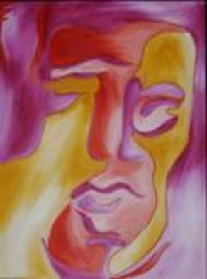 Jamie Adkins; Looking, 2004, Original Painting Acrylic, 16 x 20 inches.