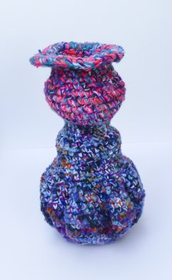 Andreas Loeschner Gornau, Small vase 8 picture 1 of 4, 2014, Original Textile, size_width{Small_vase_8_picture_1_of_4-1438190887.jpg} X 22 x  cm