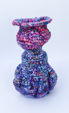 Andreas Loeschner Gornau, Small vase 8 picture 2 of 4, 2014, Original Textile, size_width{Small_vase_8_picture_2_of_4-1438191474.jpg} X 20 x  cm