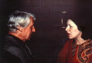 Lois Di Cosola, DiCosola with DeKooning, 1963, Original Photography Color, size_width{DiCosola_with_DeKooning-1233411248.jpg} X 8 x  inches