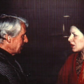 Artist: Lois Di Cosola, title: DiCosola with DeKooning, 1963, Original Photography Color