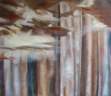 Artist: Lorie Setton's, title: Sky and Shade, 2010, Painting Oil