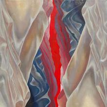 Artist: Lorie Setton's, title: Vertical Horizon, 2011, Painting Oil