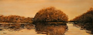 Laurie Pagels; Stillness, 2007, Original Watercolor, 22 x 8 inches. Artwork description: 241 2007 finalist Artkudos. com online competitionWatercolor U. S. A 2007 patron purchase award, Painting is of the St. Croix River that borders between Wisconsin and Minnesota WATERCOLOR USA 2007A REVIEW: BY DOROTHY M. JOINERIn a third waterscape, Laurie Pagels balances an islandrounded with ...