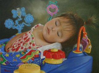 Laurie Pagels; Sweet Dreams, 2009, Original Painting Oil, 24 x 18 inches. Artwork description: 241  Oil on stretched canvas. ...